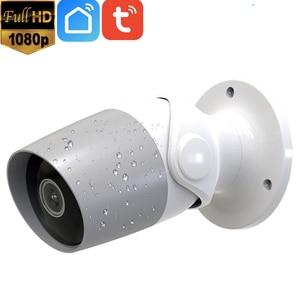 Image 1 - 1080P Full HD 2MP Outdoor 2 Way Audio Tuya Wireless WiFi Security IP Camera Alexa Google Chromecast Support