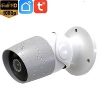 1080P Full HD 2MP Outdoor 2 Way Audio Tuya Wireless WiFi Security IP Camera Alexa Google Chromecast Support