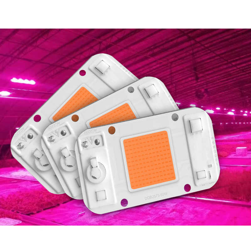 LED Grow Light Lamp Smart Chip Full Spectrum Input 220V  AC Directly 20W 30W 50W For Indoor Plant Seedling Grow and Flower