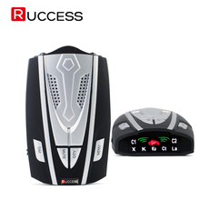 RUCCESS Auto-radar-detektor Russisch Auto-detektor Festen und Strömungsgeschwindigkeit Anti-polizei Radar Signal Erkennung X/K/Ka/Laser/Strelka CT