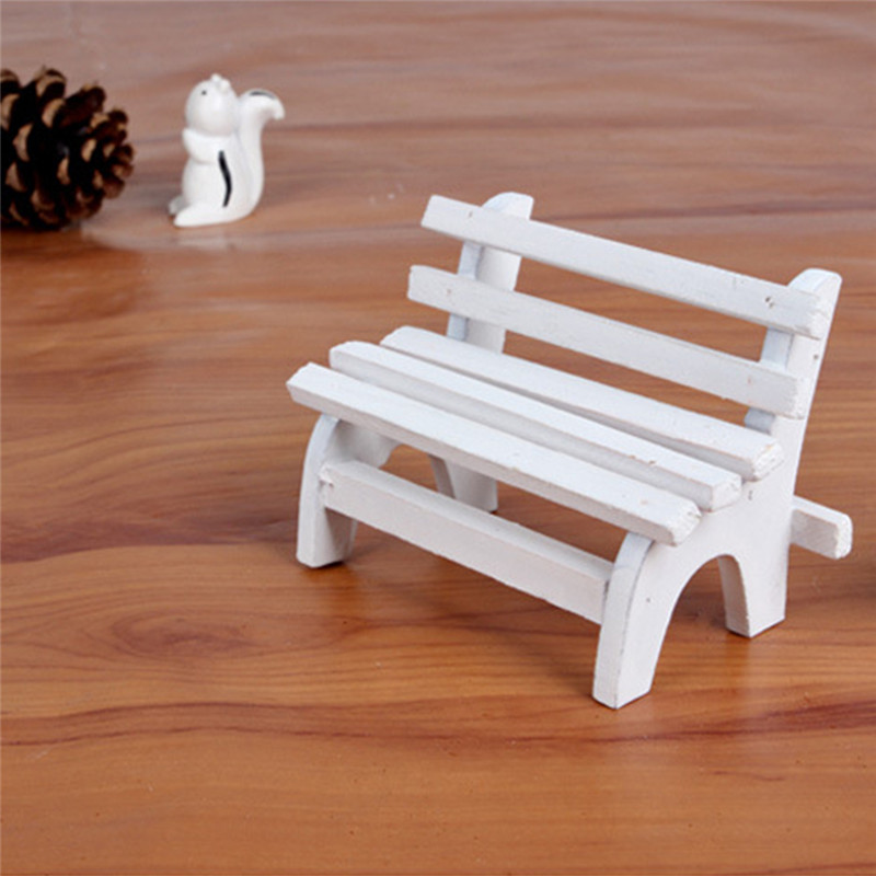Surprising Us 1 75 31 Off 2018 New Style Mini Wooden Pretend Play Park Wooden Bench Dolls House Miniature Garden Dollhouse Furniture Kids Toy In Furniture Toys Short Links Chair Design For Home Short Linksinfo