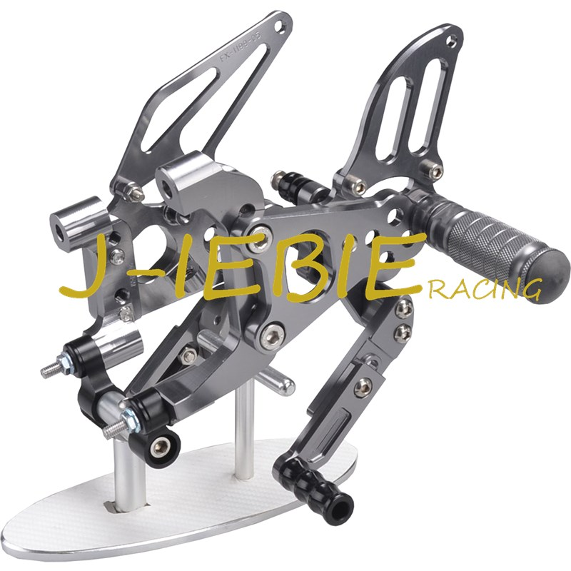 CNC Racing Rearset Adjustable Rear Sets Foot pegs Fit For Ducati 899 959 1199 1299 Panigale 2012 2013 2014 2015 2016 TITAINUM cnc racing rearset adjustable rear sets foot pegs fit for honda cbr600 cbr 600 f4 f4i 1999 2000 2001 2002 2003 2004 2005 2006