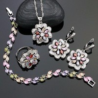 Flower-Shaped-925-Silver-Bridal-Jewelry-Sets-For-Women-Multicolor-Cubic-Zirconia-Earrings-Pendant-Necklace-Ring.jpg_200x200