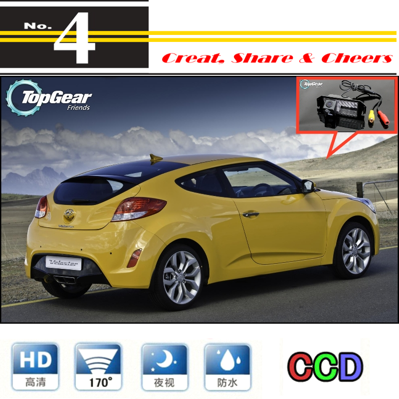 LiisleeFor Hyundai Veloster 2011~2016 Car Camera High Quality Rear View Back Up Camera For PAL / NTSC To Use | CCD + RCA