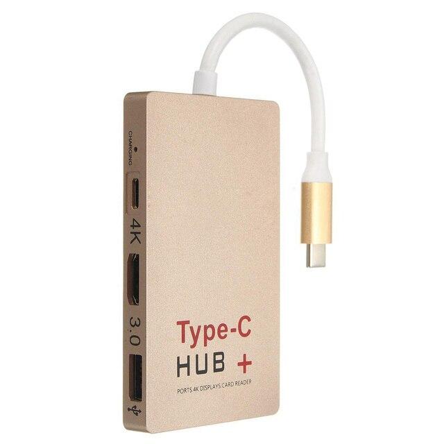 USB 3.1 Tipo C giro 4 K HDMI USB 3.0 HUB Hub USB-C