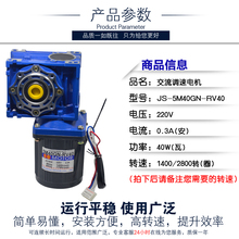 цена на AC 220V 40W single - phase AC motor speed motor speed RV low speed motor slow motor 18rpm-240rpm