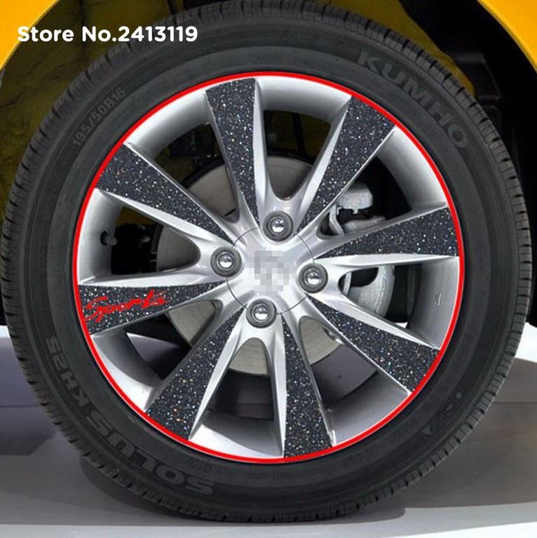 Car Styling Strips Wheel Stickers For Alfa Romeo Milano