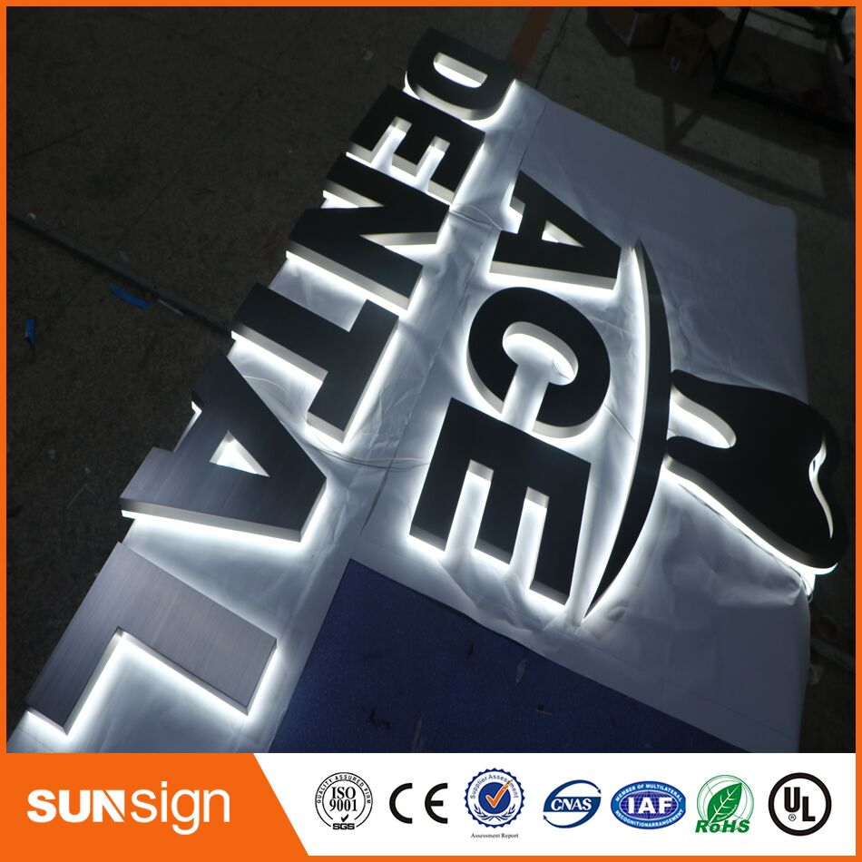 Metal Face With Back For LED