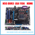 NEW hdmi port DDR3 LGA1156 Motherboard H55 mainboard