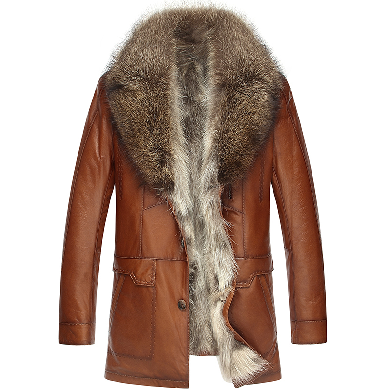 Popular Mens Raccoon Fur Coat-Buy Cheap Mens Raccoon Fur Coat lots ...