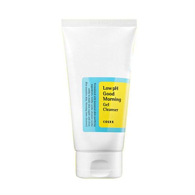 COSRX Low pH Good Morning Gel Cleanser 150ml peeling do twarzy płyn do demakijażu żel regenerujący (skóra wrażliwa) 1 szt.
