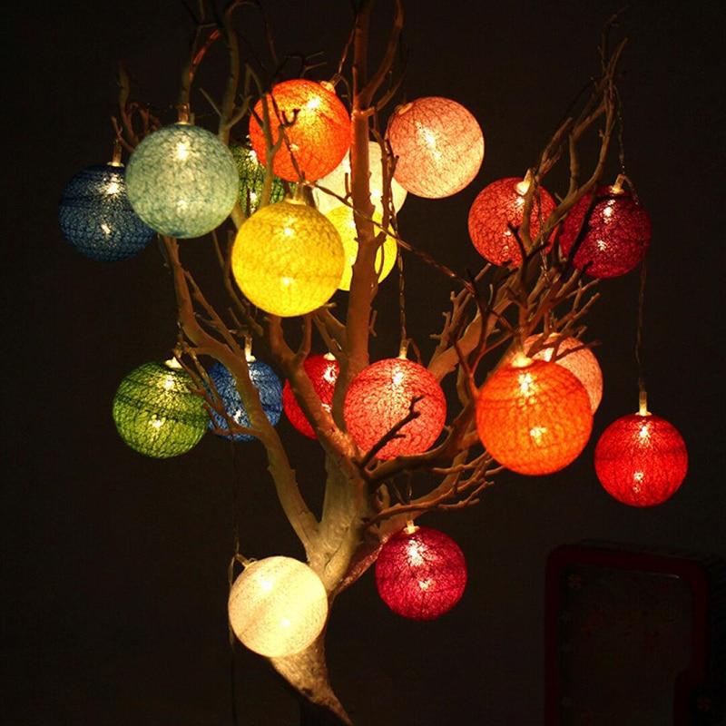 Online-Shop Ostern Eier Baumwolle Ball Licht 10/20 Führte Fee ...