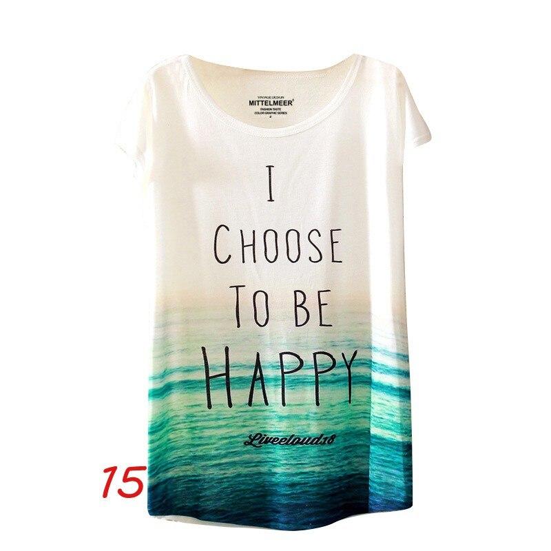 HTB112 qNFXXXXXIaXXXq6xXFXXXF - Fashion Summer Animal Cat Print Shirt O-Neck Short Sleeve