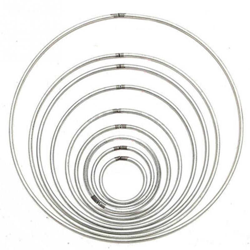 10 Size Diameter Round Metal Hoop Dreamcatcher Ring Wall
