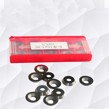 10pcs Round Carbide Cutter Inserts 1/2 12x2.5mm Fits Ci3 High Hardness Blades For Wood Turning Tools