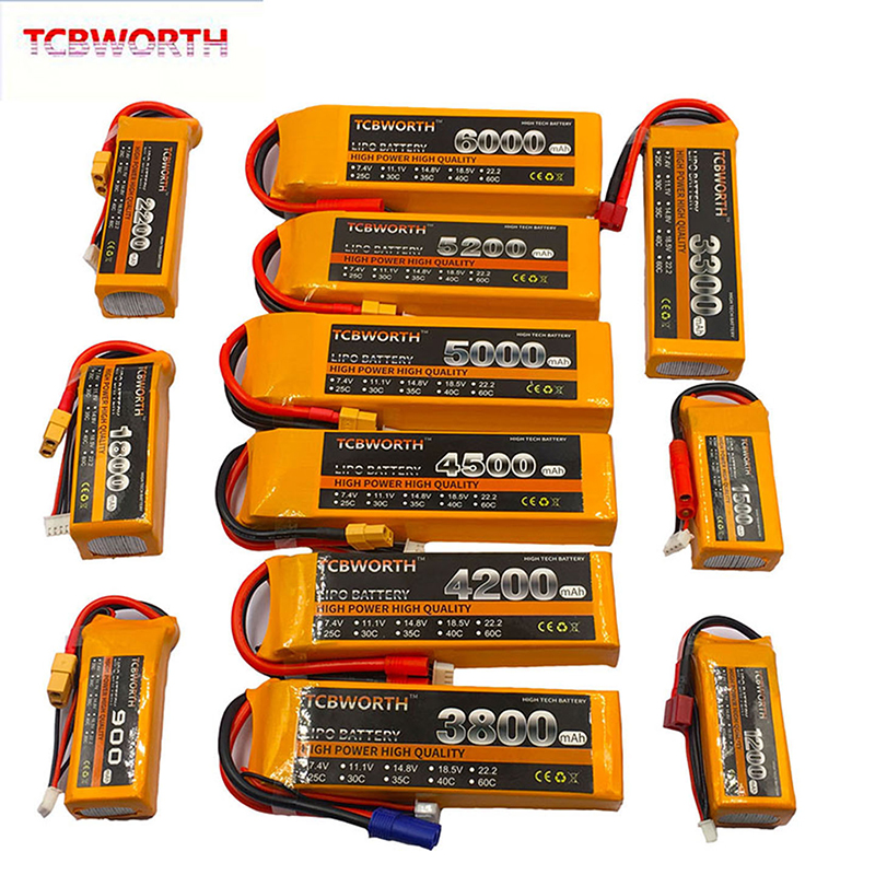 RC LiPo Battery 3S 11.1V 900mAh 2200mAh 2800mAh 3300mAh 4200mAh 5200mAh 30C 40C For RC Airplane Drone Helicopter Car Toy 3S LiPo