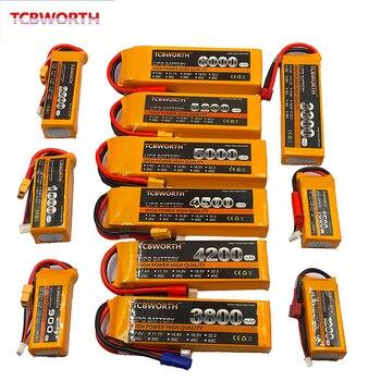 RC batería LiPo 3S 11,1 V 900mAh 2200mAh 2800mAh 3300mAh 4200mAh 5200mAh 30C 40C para RC avión Drone helicóptero coche juguete 3S LiPo