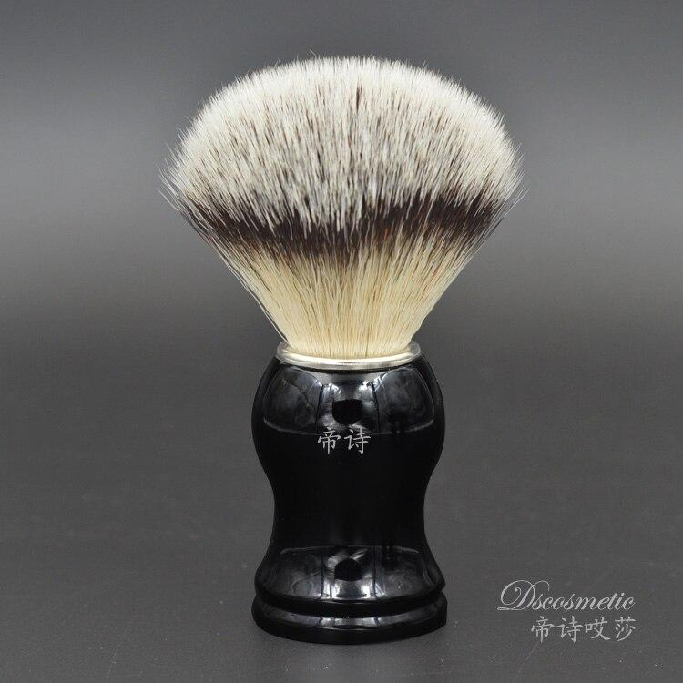 Sintético Suave hecho a mano Brocha de afeitar para herramienta del peluquero del afeitado cepillo fabricantes