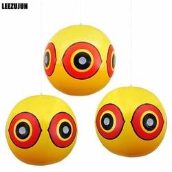 Pássaro repelente assustar olho balões pára pragas pássaro problemas rápido confiável visual dissuasor cor amarela