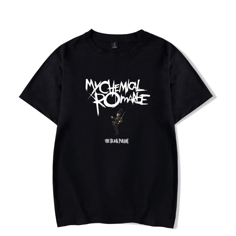 My Chemical Romance T-shirts Cool Fashion Summer T-shirts Men Women T Shirts Casual Unisex Tee Shirt Short Sleeve T-shirt Tops
