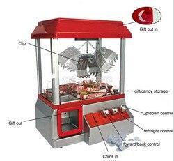 Nieuwe Coin Operated Crane Machine Speelgoed Pop Candy Grabber Machine Retro Carnaval Arcade Machine Catcher Candy Machine Kinderen Speelgoed
