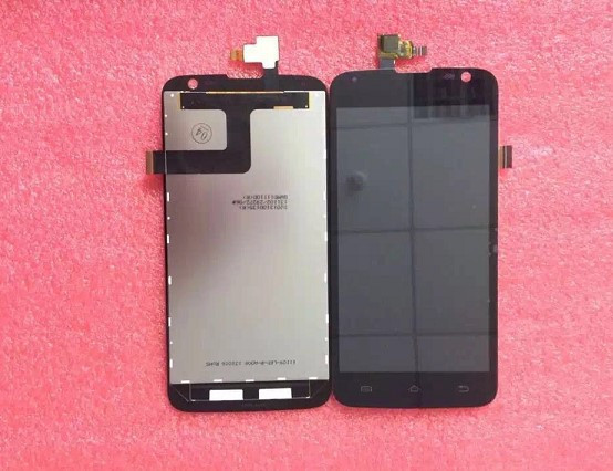 High Quality Black LCD Display Touch Screen Digitizer Assembly for ZTE v972 high quality black silver lcd display