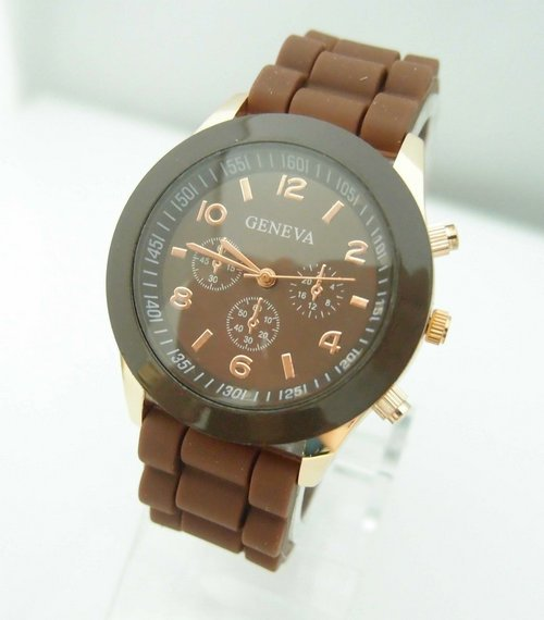 Hot Sales Genève Brand Silikone Kvinder Watch Ladies Fashion Dress - Dameure - Foto 4