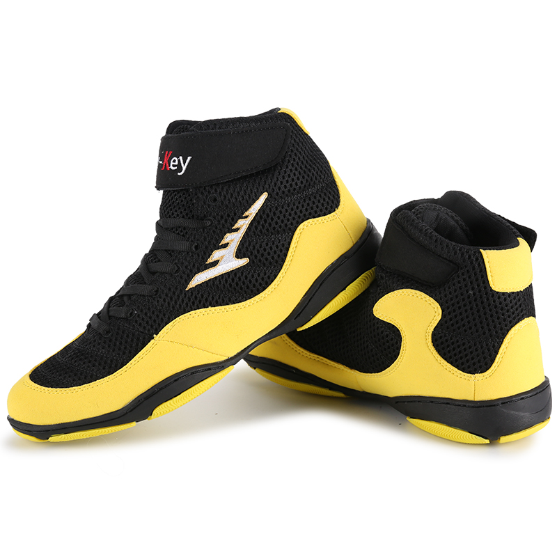 wrestling shoes high quanlity martial art Synthetic Athletic Lace Up wrestling Shoes boxing shoes wrestling shoes