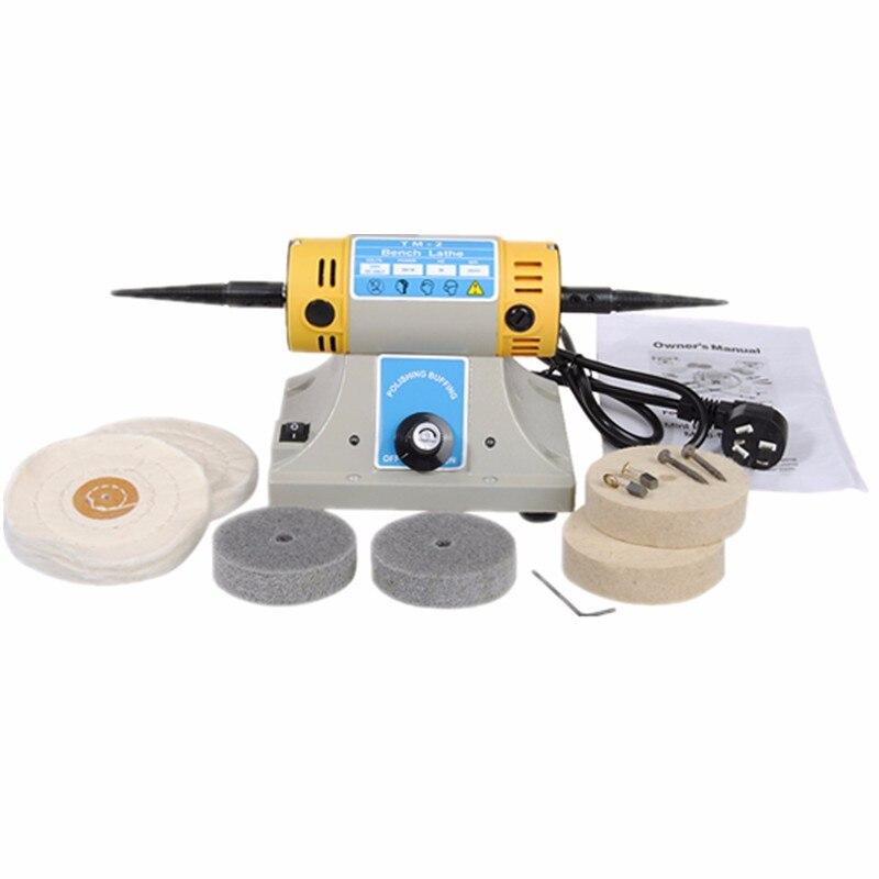 DANIU 1pc Multi purpose Mini Desktop Polishing Machine Bench Lathe Tool Dental Polishing Motor