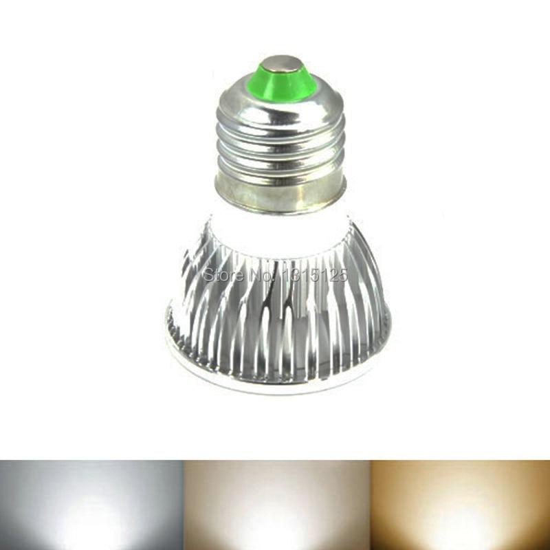 E27 LED Spotlight COB, 3W Spot жарық шамдары Жылы / - LED Жарықтандыру - фото 3