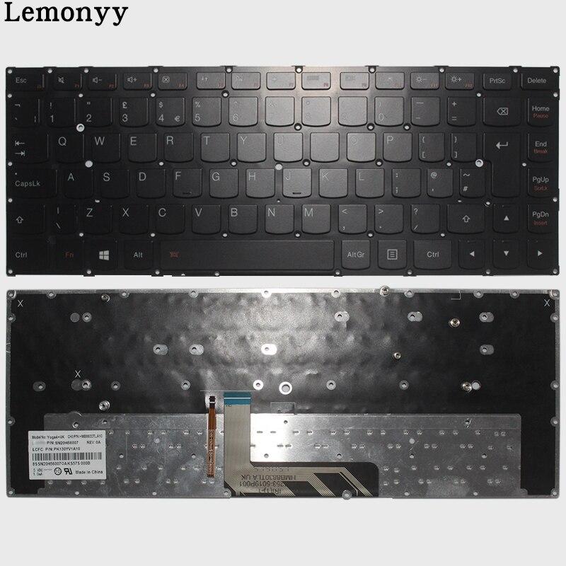 ①  Британская клавиатура Lenovo ThinkPad Yoga 4 PRO Yoga 900 Британская клавиатура для ноутбука с подсв ★