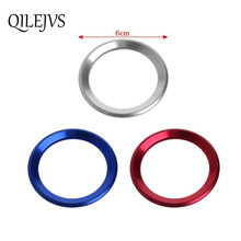 Car Steering Wheel Decoration Circle Cover Sticker For BMW X1 E60 E36 E39 E46 E30