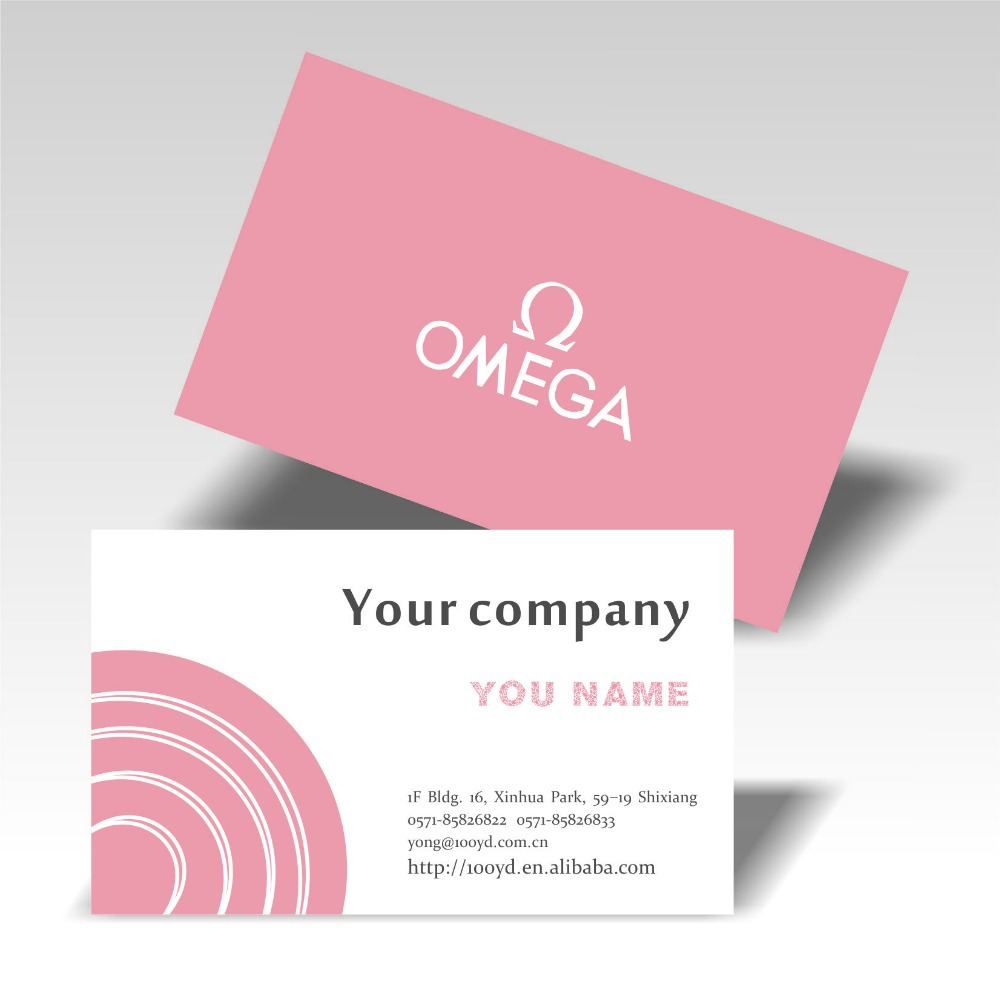 Free shipping Custom Business cards Cheapest Visit/name card ...