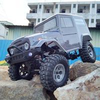 Minocool EX86100 1/10 2,4 г 4WD щеткой Rc автомобиль для бездорожья Monster Truck Рок Гусеничный