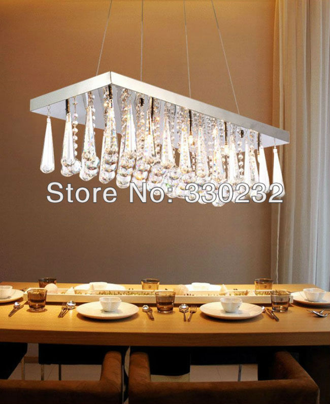 Modern Lamp Crystal Chandelier No Lighting Lighting Aslo