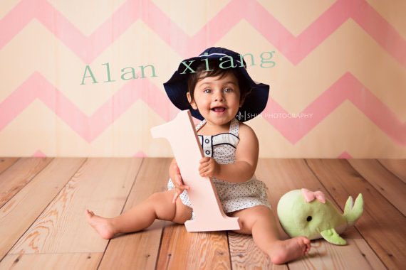 1 Sign Baby Photo Prop First Birthday One Sign 1, First Birthday Sign, Wooden Age Numbers Photography Props
