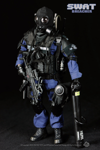 Image 3 - New Free Shipping  NEW Arrival  action figure soldier toys /military toys(SWAT BREACHER)