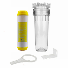 Reverse Osmosis Water Purifier Filter 10 Inch Resin Filter Cartridge + Water Filter Housing + RO Wrench/Plastic Bracket/Fittings