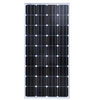 BUHESHUI 150W 18V Monocrystalline Silicon Solar Panel Used For 12V Photovoltaic Power Home DIY Solar System High Quality