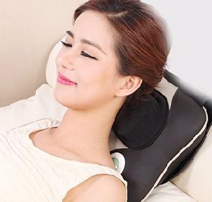 Cervical spine massager neck shoulder waist back multifunctional massage pillow home full body massage cushion for leaning on стоимость