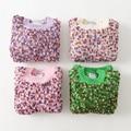 Niños Suéter de Cuello de Primavera Otoño de los Bebés Ropa Casual O-cuello Patrón de Suéter de Punto Ropa de Niños 5 unids/lote