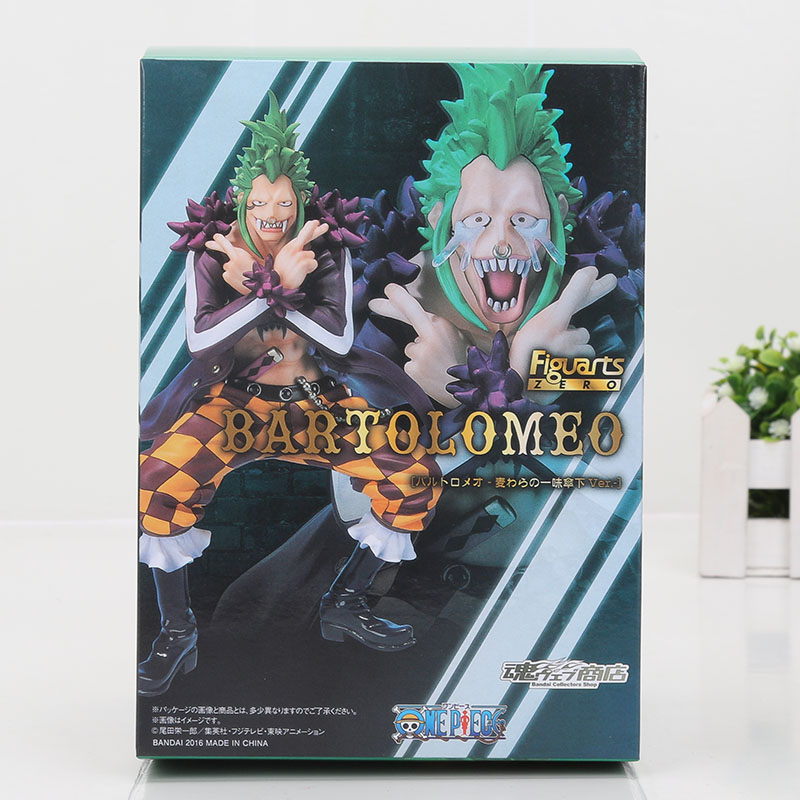 One Piece Figure Bartolomeo Back Box
