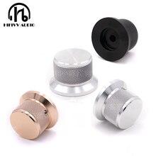 HIFI audio amp aluminiowe pokrętło głośności 1 szt. Średnica 38mm wysokość 25mm wzmacniacz pokrętło potencjometru