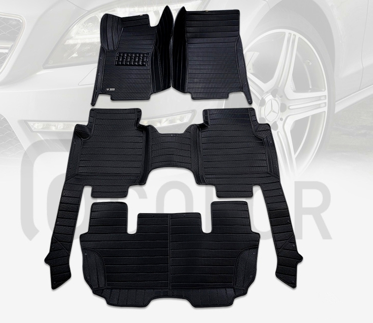 Custom special floor mats for Mercedes Benz R 300 350 400 500 W251 7 seats / 6 seats 2017-2006 waterproof carpets,Free shipping