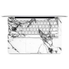 2016 Laptop Keyboard Side Full Vinyl Decal White&Black Marble Sticker Skin For Apple Macbook Air 11″13″ Retina/Pro 13″15″ New12