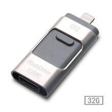 For iphone Otg Usb Pen Drive Usb Flash Drive pendrive For iPhone 5/5s/5c/6/6 Plus/ipad Pendrive 8gb 16gb 32gb 64gb 128gb