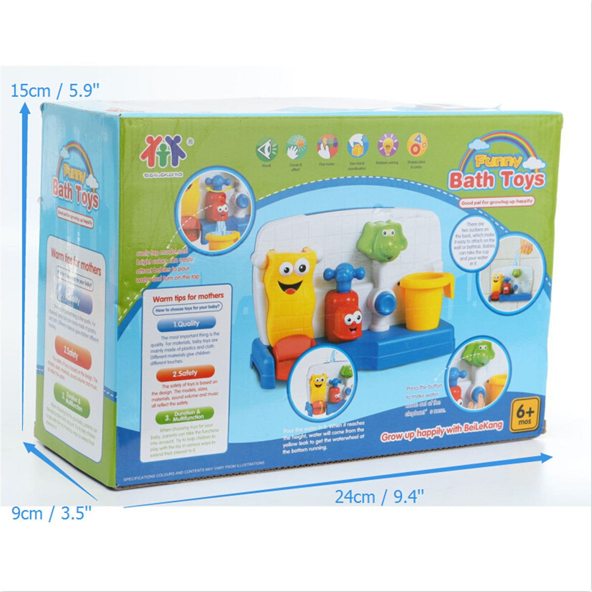Lovely Cartoon Water Playing Toy Bathing Beach Swimming Automatic ...