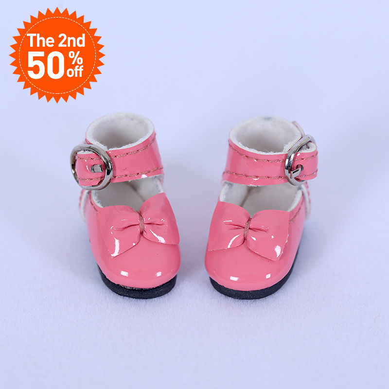 Shoes For BJD Doll 1/8 leather shoesMini Shoes For lati YOSD pukipuki BJD Dolls WX8-41 Length 2.9cm width 1.2cm Doll Accessories недорго, оригинальная цена