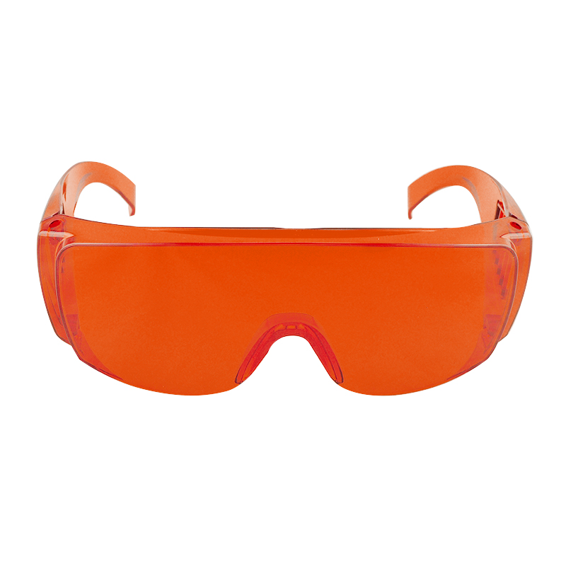 New Orange Red Goggle Glasses Lab Safety Dental