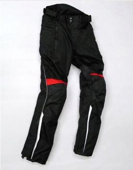 Motorcycle Racing Pants for Honda Team Protective Riding Trousers Motocross With Protectors Black